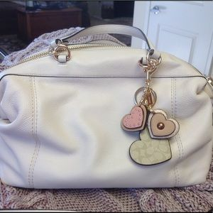 Coach Lenox bag with purse charm and insert